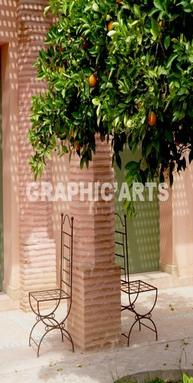 Sticker pour porte cour au maroc d coration adh sive de for Decoration porte adhesive